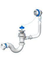 Обвязка АНИ для ванны с выпуском и переливом 1 1/2 (E150)