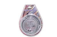 """Шланг для душа MELODIA MS-02 1/2""""*1/2"""" Tubo Comfort металл хром 150 см, для импортных смесителя и ле"""