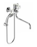 Смеситель VIDIMA UNO BA239AA для ванны/душа, керамический переключатель, установка на стену, трубчат