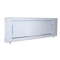 Экран под ванну МДФ купе 1700 мм белый ВИД 1