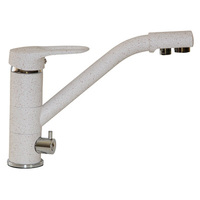 Смеситель MIXLINE для кухни  40к  ML-GS05 (328) бежевый с вых. для питьевого фильтра