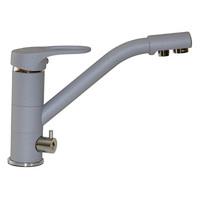 Смеситель MIXLINE для кухни  40к  ML-GS05 (342) графит с вых. для питьевого фильтра