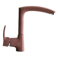Смеситель MIXLINE для кухни  40к  ML-GS09 (307) терракотовый высок. излив