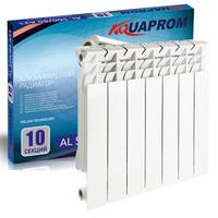 Радиатор алюминиевый AQUAPROM 80*500 12 сек.