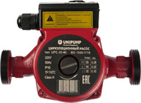Насос циркуляционный UNIPUMP UPC 25-80 180, с гайками
