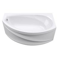 Ванна АБС 1,7*1,0 R ДАмелия Правая 150 л. (каркас+панель)