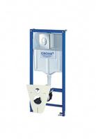 Система инсталляции Grohe 38 750 001 RAPID SL овал с кнопкой 38505000 *монт.выс.1,13м