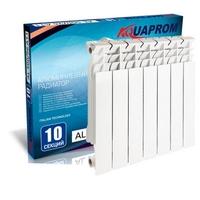 Радиатор алюминиевый AQUAPROM 96*500  6 сек.