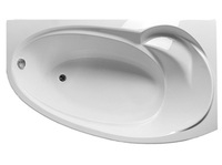 Ванна акрил 1,6*0,95 ДЖУЛИАНА Правая (каркас+панель) (Марка №1)