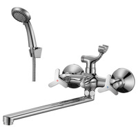 Смеситель ROSSINKA RS40-84 для ванны и умывальника 1/2 керамика
