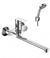 Смеситель ROSSINKA S35-33 для ванны и умывальника 35к катридж.дивертор