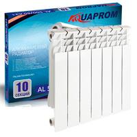 Радиатор алюминиевый AQUAPROM 80*500  4 сек.