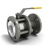 Кран шаровой ДУ 50 PN16 фланцевый разборный полнопроходной КШРФ(вода/газ) LD