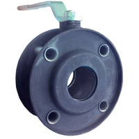 Кран шаровой ДУ100 PN16 фланцевый (вода/газ) LD СТРИЖ