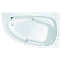 Ванна акрил 1,5*0,95 JOANNA Ультра белый правая 200л (рама+панель) (Cersanit