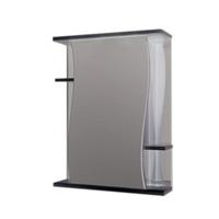 Шкаф зеркальный  550мм без подсветки Волна 55