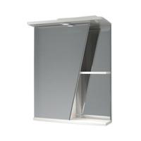 Шкаф зеркальный  550мм с подсветкой Астра лев