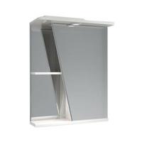 Шкаф зеркальный  550мм с подсветкой Астра прав