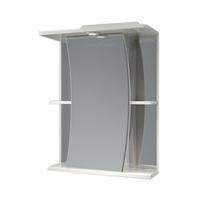 Шкаф зеркальный  550мм с подсветкой Парус 55