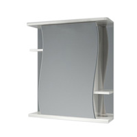 Шкаф зеркальный  620мм без подсветки Мадрид 62