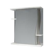 Шкаф зеркальный  620мм без подсветки Волна 62