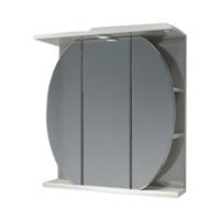 Шкаф зеркальный  650мм  с подсветкой Шар
