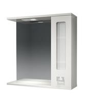 Шкаф зеркальный  700мм с подсветкой Витраж 70  прав
