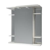 Шкаф зеркальный  750мм с подсветкой Валенсия 75