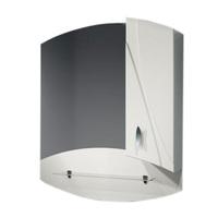 Шкаф зеркальный  870мм без подсветки Фортуна 87 прав
