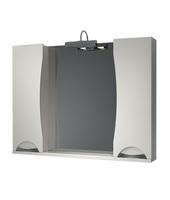 Шкаф зеркальный 1050мм без подсветки Каприз 105