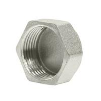 Заглушка 1/2'' вн с контр отв VRT® никель