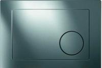 Кнопка универсальная Cersanit GEOMETRY хром блестящий для LeonNew/Hi-Tec/Link/Vector