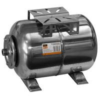 """Бак расширительный  24л для водоснабжения (присоединение 1"""")  VRT® (горизонт-й), нерж. сталь"""