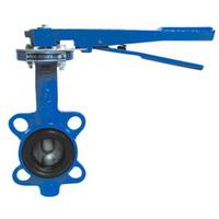 Затвор поворотн дисковый ручн ДУ-80 PN16 (темп -30 +130, диск-чугун, уплотн-резина EPDM)