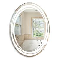 """Зеркало MIXLINE """"Джорджия"""" 570*770 (ШВ) овал светодиодная подсветка"""
