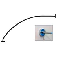 Карниз нерж Пикколо (1Марка) 1,5*0,75 D16мм