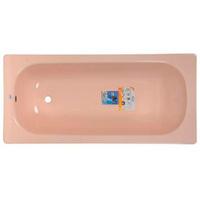 "Ванна стальная 1,5*0,7*0,4 (ВИЗ) Донна Ванна АНТИБАК ""Розовый коралл"" цв.розовый (ОР-01200)"