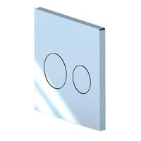 Кнопка для инсталляции АНИ ПЛАСТ WC1310 WP2410 круг хром глянец