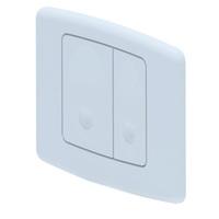 Кнопка инсталляции АНИ ПЛАСТ WP1100 квадрат белая