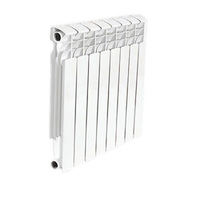 Радиатор биметаллический AQUAPROM 80*350  8 сек.