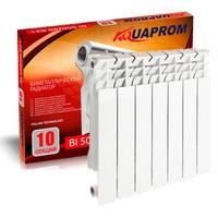 Радиатор биметаллический AQUAPROM 80*500   4 сек.