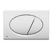 Кнопка для инсталляции белая (М070) Alcaplast