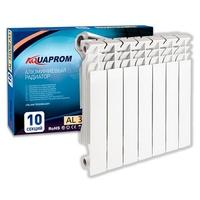 Радиатор алюминиевый AQUAPROM 80*350   6 сек.