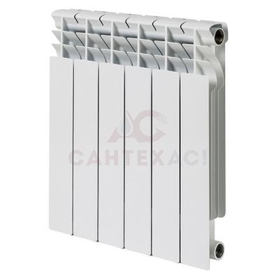 Радиатор биметаллический РУССКИЙ РАДИАТОР Корвет 500*80 10 сек.