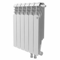 Радиатор биметаллический ROYAL THERMO Vittoria Super VDR 500*90 12 сек.  нижнее подключение