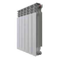 Радиатор алюминиевый НРЗ 500*100  6 сек.