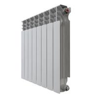 Радиатор алюминиевый НРЗ 500*100  8 сек.