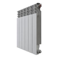 Радиатор алюминиевый НРЗ 500*80  6 сек.