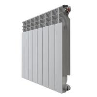 Радиатор алюминиевый НРЗ 500*80  8 сек.