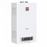 Водонагревательеватель газовый Альфа, модель Евро-24 (24 кВт, 12 л/мин, электророзжиг) ЛЕМАКС